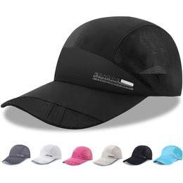d9cd489ebaa Black hat net online shopping - Quick Dry Sports Snapbacks Letter Mesh Net  Hats Designer Mens
