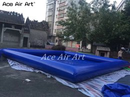 $enCountryForm.capitalKeyWord NZ - 0.6mm pvc tarpaulin swimming pool equipment set, kids inflatable swimming pool with free air blower for sale made in China