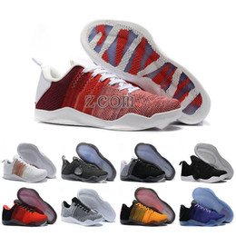4e055a2a5f0e 2018 High Quality Kobe 11 Elite New Men Basketball Shoes Red Horse Oreo  Sneaker KB 11s Mens Trainers Sports Sneakers Size 40-46