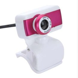 Wholesale USB HD Webcam Camera P With Microphone for Computer Desktop PC Laptop Rose