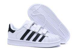 $enCountryForm.capitalKeyWord UK - Free shipping Brand Children Superstar shoes Original White Gold baby kids Superstars Sneakers Super Star girls boys Sports kids shoes 28-35