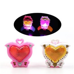 Festival light up toys online shopping - LED Bracelet lighting up toys for kids children Festival Wrist Luminous Birthday gifts Toys H352