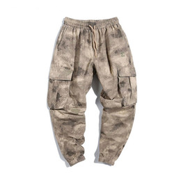 $enCountryForm.capitalKeyWord Canada - Square Camo Cargo Pants Mens Fashion Baggy Tactical Trouser Hip Hop Casual Cotton Multi Pockets Harem Pants