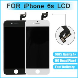 Iphone Color Lcd White Black Australia - AAA + + +For iPhone 6S LCD Display Replacement With 3D Touch Screen Digitizer Black White Mixed Color & Free Shipping
