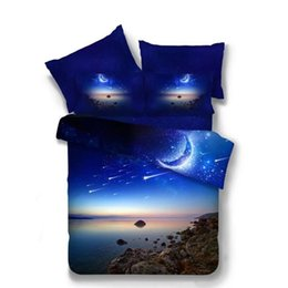 $enCountryForm.capitalKeyWord UK - Bedding set fiber Double 3d Blue Nebula Starry Sky Duvet Cover Roupas de cama Queen Planet earth stars parure de lit adulte Pug