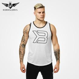 popular clothing brands men 2018 - New Brand Clothing Bodybuilding Fitness Casual Tank Top Men O-neck Gyms Man Tank Top Popular Summer Men Vest Fashion Man