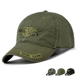 Baseball Caps Black Green NZ - IGGY New Fashion Baseball Cap Men Women Tactical Sun Hat Letter Adjustable Camouflag Black Army Green Snapback Caps