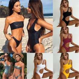 3859d2a5d2d16 Women sexy shiny bikini online shopping - Bikini Bikinis Women Sexy Swimsuit  Brazilian Bikini Set Biquini