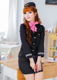 adult uniforms 2021 - Adult fun and sexy role-playing stewardess clothing interest nightclubs uniform temptation lingeries NB-371 discount adu