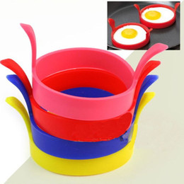 $enCountryForm.capitalKeyWord NZ - Kitchen Silicone Fried Fry Frier Oven Poacher Egg Poach Pancake Ring Mould Tool high quality new 2018