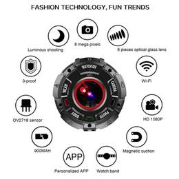 ZGPAX S222 Sport Watch IP68 impermeabile WIFI 1080P 720P 2K supporto 32GB scheda di memoria Bluetooth 4.0 Camcorder
