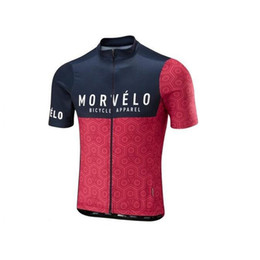 New Morvelo Cycling Jersey Ropa Ciclismo Hombre Summer Bicycle Clothes mtb Sportswear MTB Bike Cycle Racing Clothing shirts K070826 on Sale