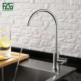$enCountryForm.capitalKeyWord Australia - wholesale Brushed Nickel Swivel Drinking Water Faucet 3 Way Water Filter Purifier Kitchen Faucets For Sinks Taps 247-33A