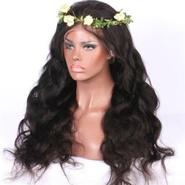$enCountryForm.capitalKeyWord Australia - Loose Wave Full Lace Human Hair Wigs For Black Women With Baby Hair 130-180% Density Peruvian Human Hair Glueless Lace Front Wig