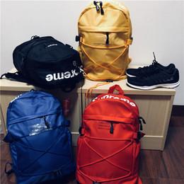 Venta al por mayor de Diseñador Mochila de moda Mochila deportiva Bolso doble Bolso de viaje de lujo al aire libre Impreso mochilas escolares de alta calidad