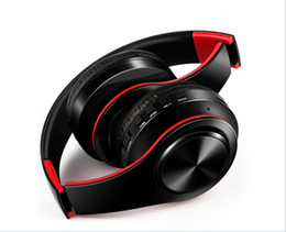 sound design stereo UK - High quality foldable design stereo sound bluetooth wireless headset universal headphones support TF card ultra compact free shipping