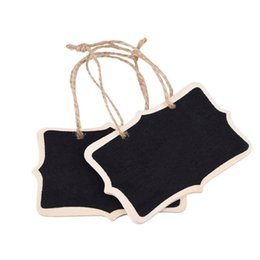 Door Signage Chalkboard Place Cards 6pcs Hanging Blackboard Double Sided Open Please Close Door Sign Not Disturb Hint Sign Tag Office & School Supplies Card Holder & Note Holder
