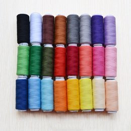 Wholesale 24rolls Top Quality Colors Yards Sewing Threads DIY Sewing Thread Kit for Hand or Machine Thread