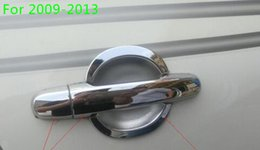 Rav4 Chrome NZ - High quality ABS chrome door handle decoration protection cover+door handle bowl for RAV4 2009-2017