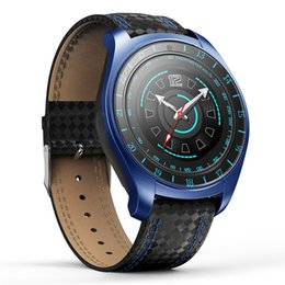 Smart Watch Heart Rate Australia - Smart Watch Men with Camera Bluetooth Smart watch Pedometer Heart Rate Monitor Sim Card Wristwatch Watch for Android Phone