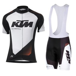 2018 KTM Summer Mtb Bike Clothing Mens Cycling Jersey Set Bicycle Short  Sleeves shirts 3D Bib Shorts Suit Maillot Ciclismo Sportswear F2741 b9f5a9c5d