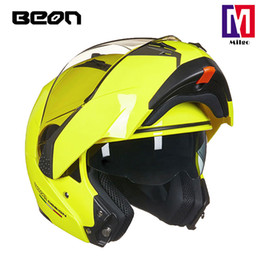 $enCountryForm.capitalKeyWord NZ - BEON B-700 New motorcycle helmet Flip Up Dual Visor Racing Motos Helmet 100% Genuine with bluetooth