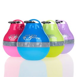 Portable dog drinking bottle online shopping - Water Droplet Type Feeder Dispenser Dog Kettle Lightweight Silicone Cat Poodle Drinking Device Portable Bottle Pet Supplies hy2 bb