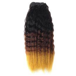 Ombre 27 pc weave online shopping - 10A Ombre Peruvian Yaki Straight Hair Virgin Human Hair Extensions B Ombre Indian Yaki Straight Hair Malaysian Bundles