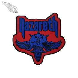 $enCountryForm.capitalKeyWord Australia - Nazareth Punk Motorcycle Biker Club MC Embroidered Patches for Clothing and Hats Caps Patch for Biker Free Shipping