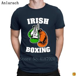 $enCountryForm.capitalKeyWord Australia - Irish Boxings Cmg Tshirt Clever Design Loose Novelty T Shirt For Men Cotton Top Tee Summer Style Comical