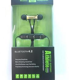 Опт XT11 Bluetooth Наушники Магнитные Беспроводные Бег Спортивные Наушники Гарнитура BT 4.2 с Микрофоном MP3 Наушники Для iPhone LG Смартфоны в Коробке 2019