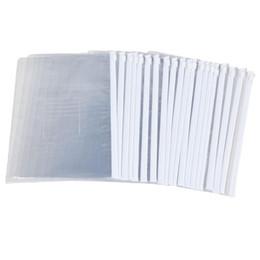 Folder Zip UK - SCLL Hot White Clear Size A5 Paper Slider Zip Closure Folders Files Bags 20 Pcs