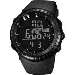 Men Digital Wrist Watches Australia - TC Zegarek Meskie Sports Watch Men Analog Digital Silicone Sport LED Waterproof Wrist Watches Woche Men Relogio Masculino