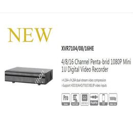 Discount 16 dvr recorders DAHUA 4 8 16 Channel Penta-brid 1080P Mini 1U Digital Video Recorder Without Logo XVR7104HE XVR7108HE XVR7116HE