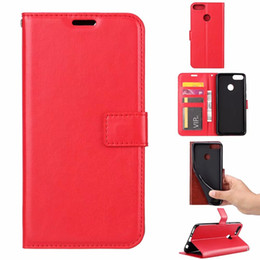 Wholesale Retro Leather Wallet Case For Redmi Note A Pro Xiaomi Mi Mi8 X A2 Vintage Crazy Horse Flip Cover ID Card Slot Frame Phone PU Luxury