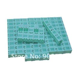 Free Plastic Storage Containers UK - free shipping 50pcs SMD SMT component container storage boxes electronic case kit