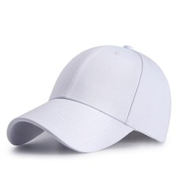 0614702d090 15 Solid Colors 2018 New Cotton Baseball Cap Men Women Breathable Outdoor  Travel Sport Hats Snapbacks Caps Z-6296
