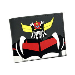 cartoon miku Australia - New Arrival MAZINGER Z Hatsune Miku Death Note Walking Dead Totoro DC Marvel Cartoon Silica Gel Short Wallet For Young