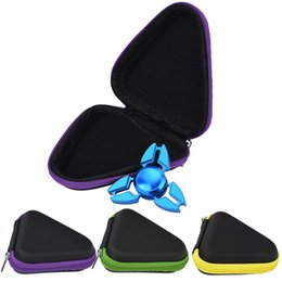 $enCountryForm.capitalKeyWord Australia - Triangle Multi-Color Fidget Spinner Pouch Hand Spinner Toys Bluetooth Headset Storage Bags Compressive Container Portable Cases Hot Sale