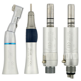 Wholesale Dental Low Speed ​​Handstück EX203C Gerade Winkelstück Luftmotor Borden / Midwest 2 / 4Holes
