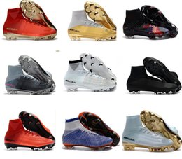 Soccer cleatS cr7 black for online shopping - Cheap Soccer Shoes Mercurial Superfly FG High Quality ACC CR7 Football Shoes For Sale Cleats Cheap Sports Boots Size