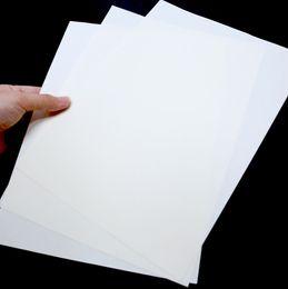 venda por atacado 75% Algodão 25% Linho Branca cor de papel A4 com fibra RedBlue StarchAcid gratuito 85gsm impermeável para impressão de notas / conta / dinheiro / certificado