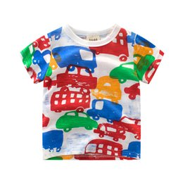 $enCountryForm.capitalKeyWord Australia - Summer Kids Boys Casual T-shirt Printed Toddler Kids Short Sleeve Round Neck Cotton Tee Tops Children's New Tee Shirts