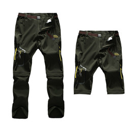 25fc7fe6b8bf Befusy 6XL Men s Summer Quick Dry Pants Outdoor Male Removable Shorts Hiking  Camping Trekking Fishing Sport Stretch Trousers C18111401