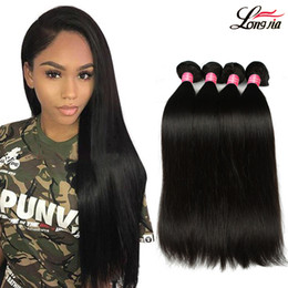 Cheap straight weft remy hair online shopping - Peruvian Straight Virgin Human Hair Bundles a Unprocessed Cheap Peruvian Straight Hair Weft inch Remy Human Hair Weave Bundle