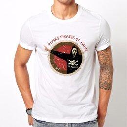Erkek Pil Komik Pamuk Üstleri 2018 Yeni Moda T Gömlek Pamuk Erkekler St Pauli Ultras 100% pamuk Sıcak Satış Üst kas indirimde