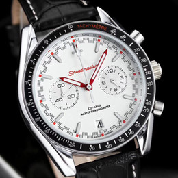 Discount mens swiss chronograph luxury watches - Swiss Brand Aaa Quality Mens Luxury Watches Sea 316L Stainless Steel Master All Funtional Chronograph Movement Original