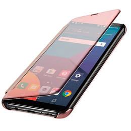 $enCountryForm.capitalKeyWord UK - Mirror smart sleep Flip Case For Samsung Galax S6 S7 Edge S8 S9 A8 Plus 2018 Note 9 8 A3 A5 A7 J1 J3 J5 J7 Pro 2018 iphone xs max xr x 7 8 6
