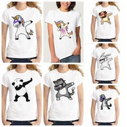 Funny christmas shirts online shopping - Summer Unicorn Cartoon Funny T  Shirts Kids Summer Tops Girls aee51b223