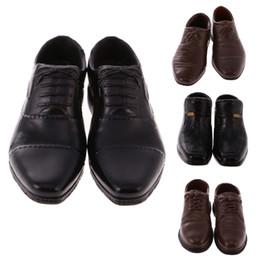 Neue 1/6 Skala Gummi Männer Leder Schuhe für 12 '' Hot Toys Männlichen Soldat Figur Kreative Geschenke Geschenke für Kinder Puppen Acces
